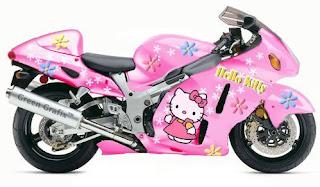 Gambar Hello Kitty CBR150 Motor Keren