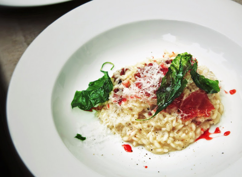Strawberry and Champagne Risotto