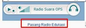 Cara Pasang Radio Pendidikan