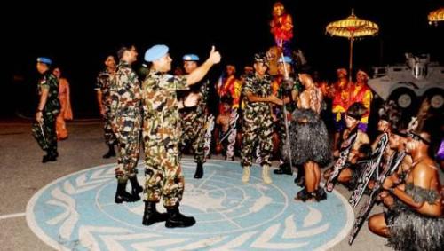 TNI Pamerkan Kebudayaan Indonesia di Lebanon