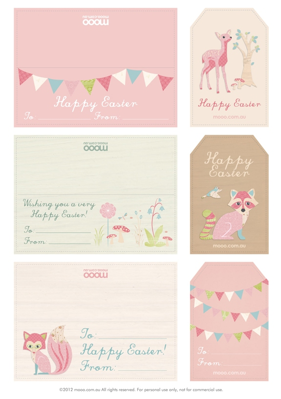 Fawn adorable and free easter printables for Pinterest printables