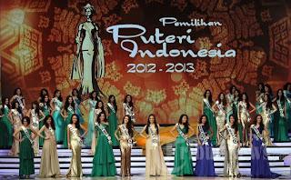 Hasil Lengkap Pemilihan Putri Indonesia 2013