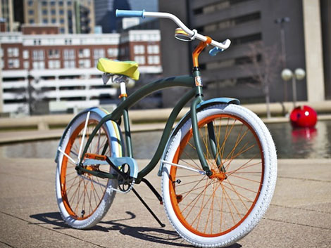 Villy Custom Cruiser Bike Design Designcombo