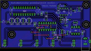 Automatyczny przełącznik audio - płyta główna