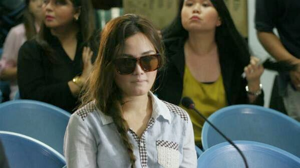 Deniece Cornejo surrenders