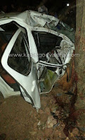 Car accident in Citizen Nagar
