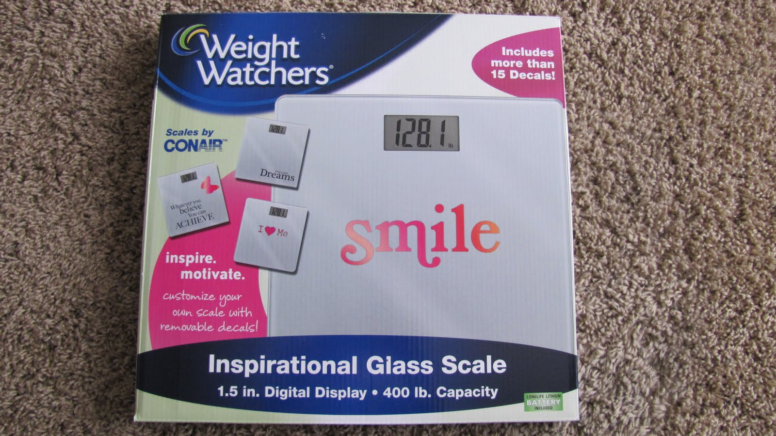 how to change kg to lbs on weight watchers scale
