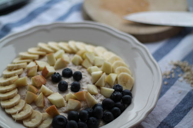 Rezept Topfenporrdige recipe Porridge / #svetlanakocht / #topfenistquark/ Gesunde Ernährung / Cleanes Rezept / #fitdurch2015