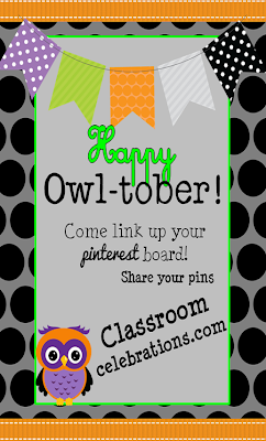 October Pinterest Party Classroom Celebrations~Link up!