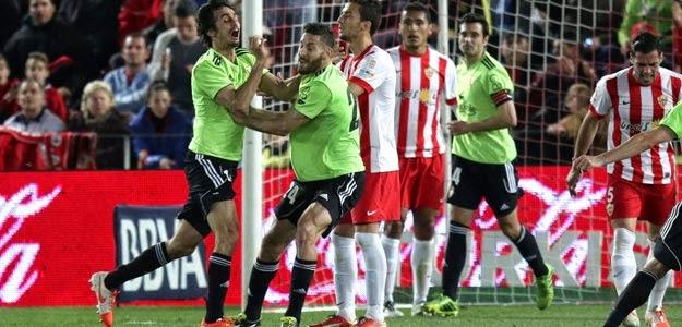 La victoria de Osasuna en Almería sólo tuvo dos acertantes