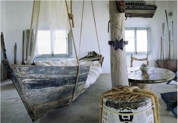 Desain Tempat Tidur Perahu