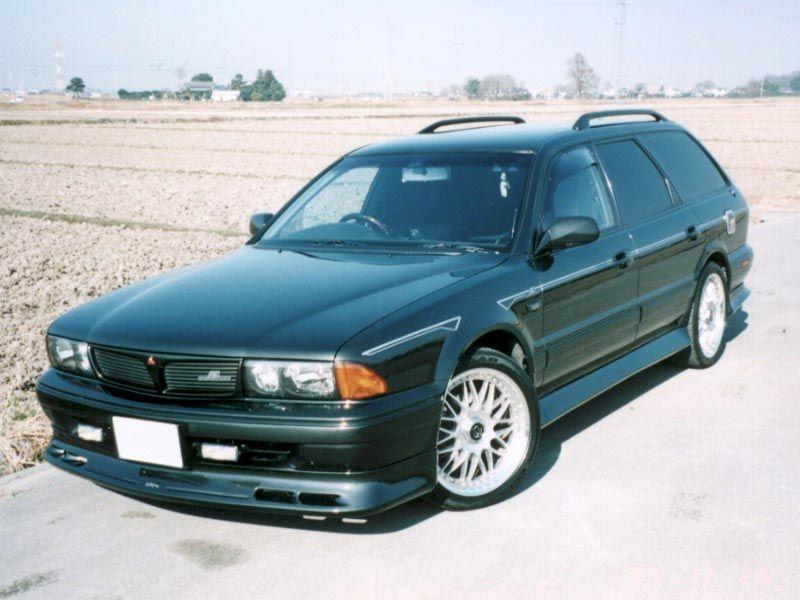 Mitsubishi Diamante Kombi, japoński samochód, JDM, tuning
