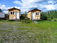 The two Cabins with Satellite TV