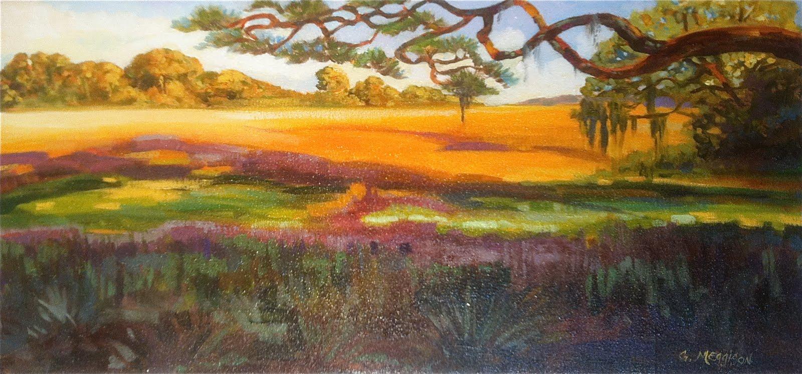 Gordon Meggison Winter Watercolor And Oil Schedule