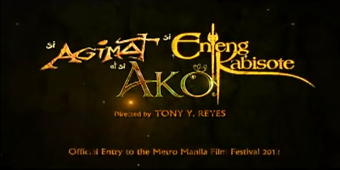 Si Agimat Si Enteng Kabisote at Si Ako 2012 Metro Manila Film Festival family fantasy comedy film directed by Tony Reyes starring Vic Sotto, Bong Revilla, Jr and Judy Ann Santos 2012 MMFF