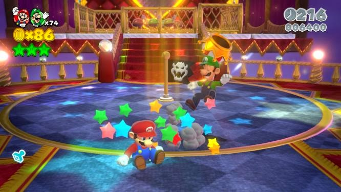 Super Mario 3D World on Wii U