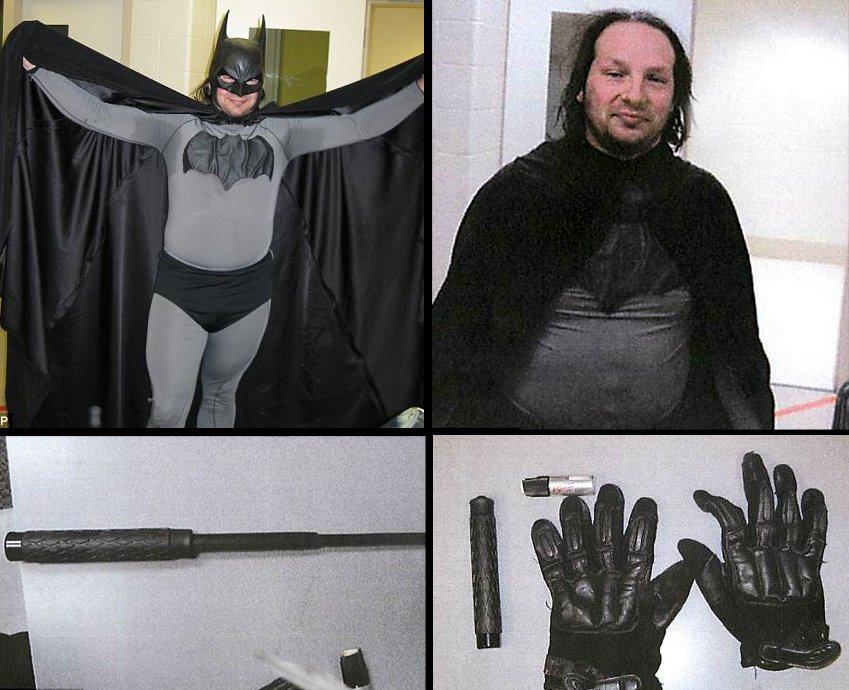 batman%252Barrested One Batman Gets Ass Kicked, Another Arrested