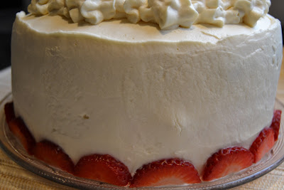 pastel de fresas con nata thermomix
