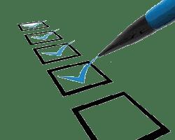 CheckList autodiscipline self-discipline