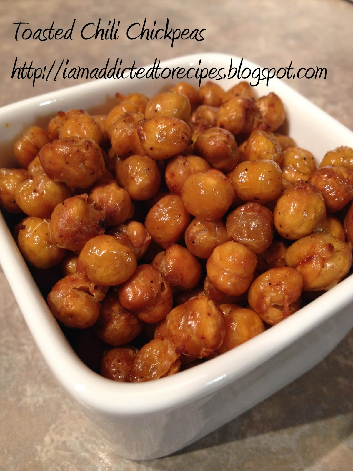 toasted chili chickpeas