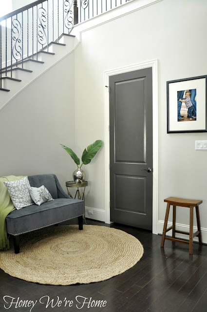 Honey We 39 Re Home Black Gray Painted Interior Doors