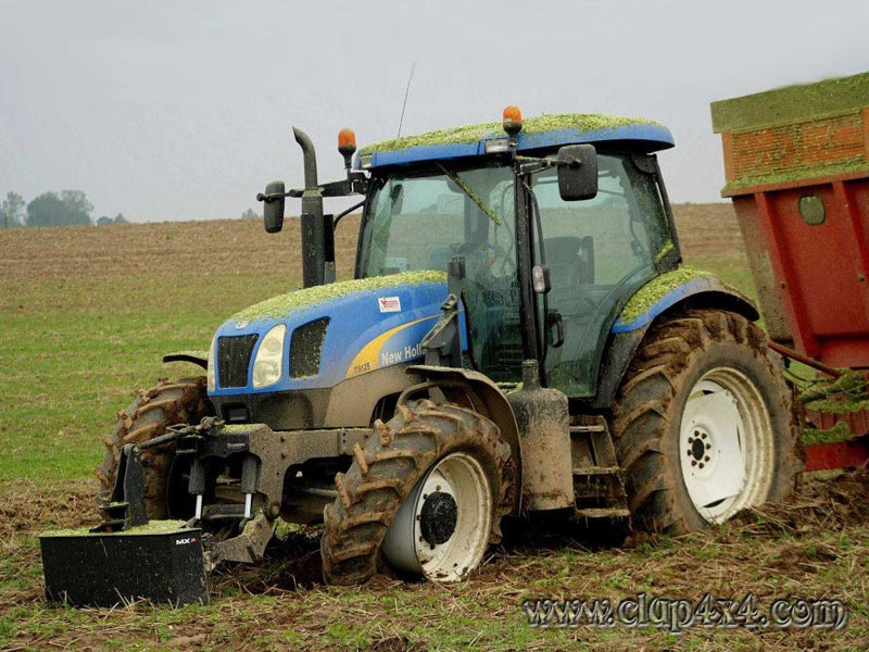 Farm Tractor Pto Accidents : Tractors farm machinery new holland accident