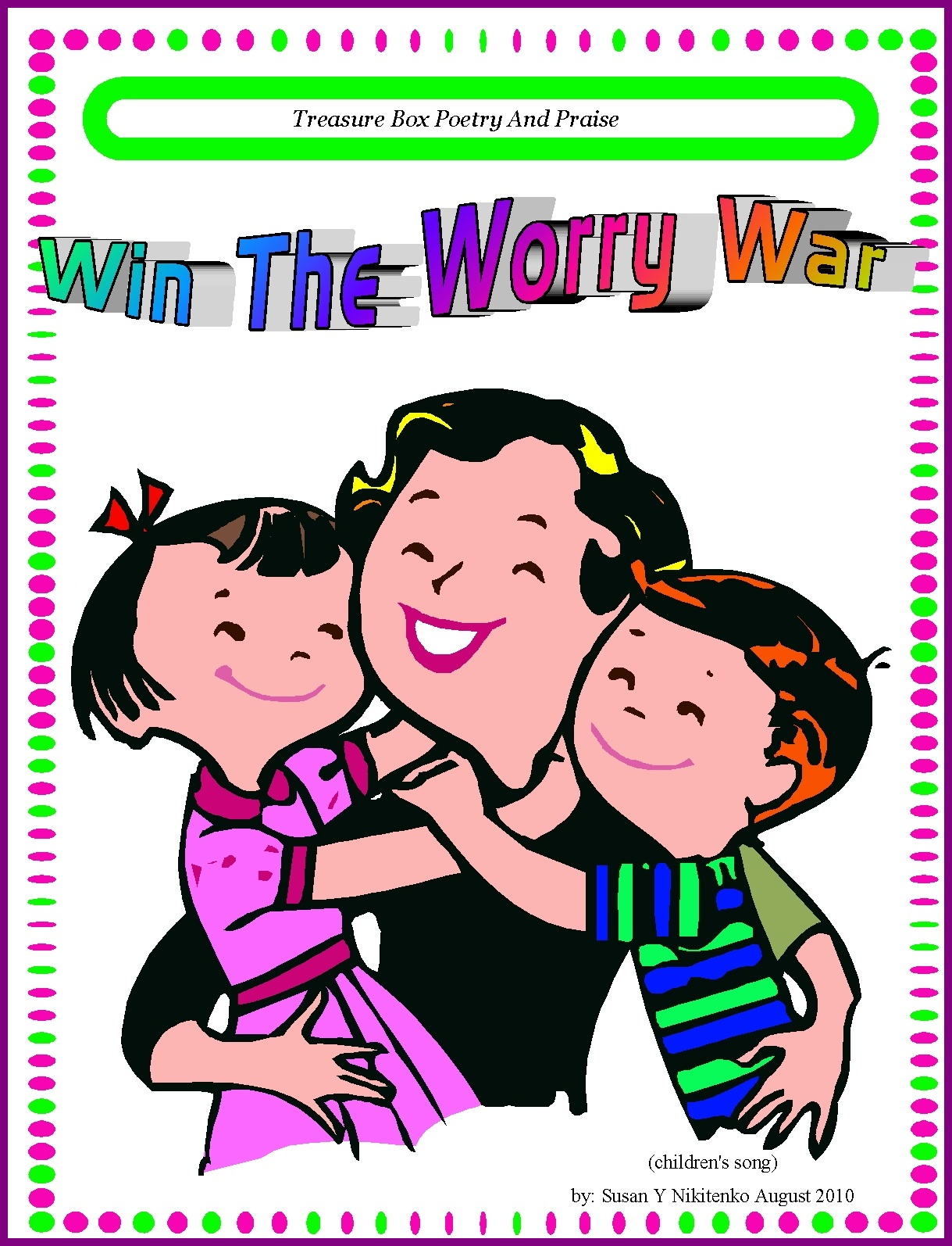 Children\'s Gems In My Treasure Box: Win The Worry War - Children\'s ...