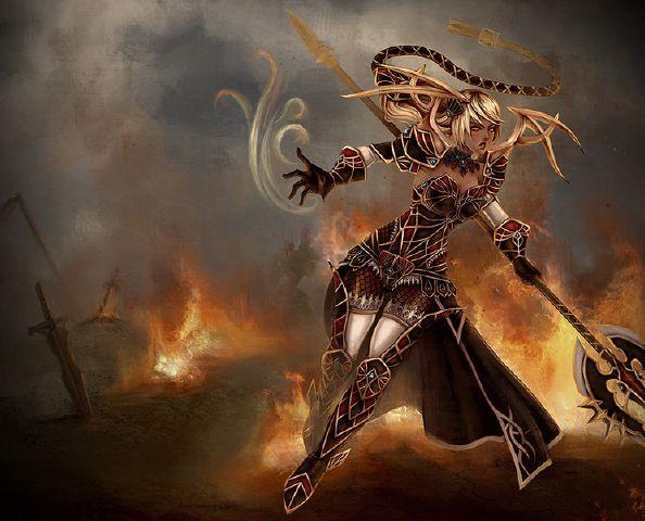 Skin Janna The Harbinger Of War