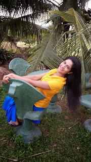 sri lankan actress Maheshi Madushanka