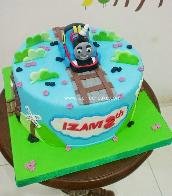 Kue Tart Thomas and Friends Daerah SUrabaya - Sidoarjo