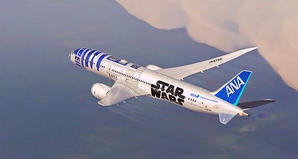 imagen Avión R2-D2 volando
