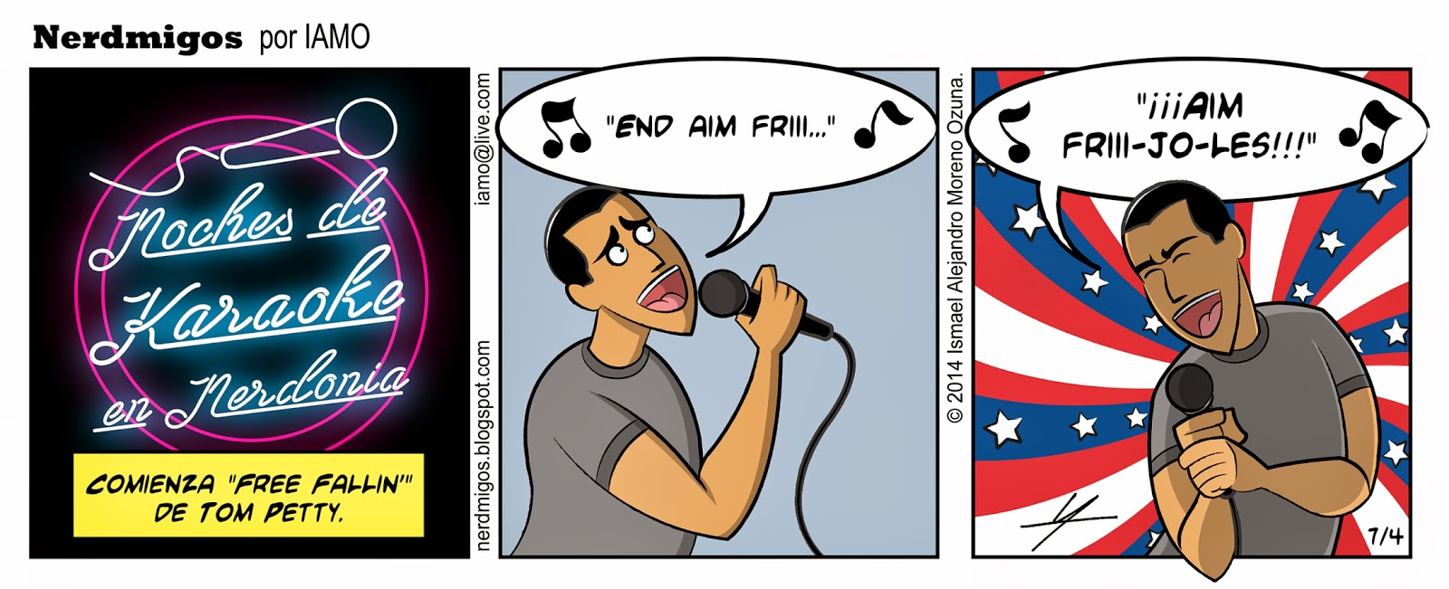 Nerdmigos Free Fallin Tom Petty Karaoke por IAMO