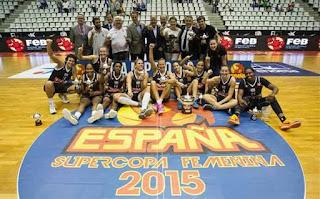 BALONCESTO - El Girona remonta alzando su primera Supercopa, y fue de nuevo la bestia negra del Perfumerías Avenida