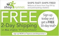 2 Day Holiday Shipping with Shoprunner