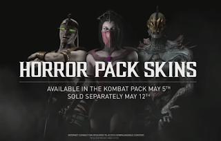 Horror Pack Skins