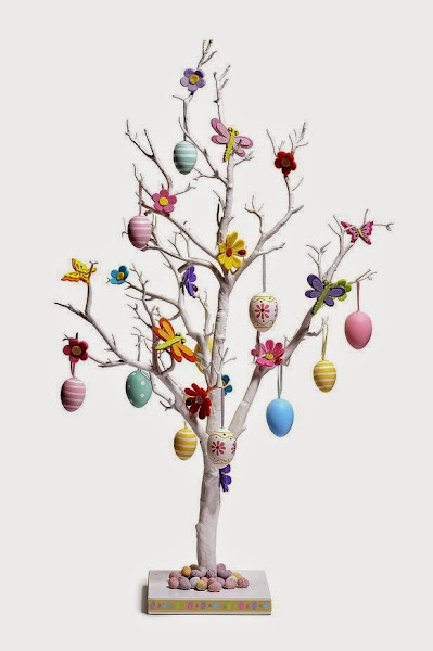 Decor idea how to make easter egg tree my favorite things How to make an easter egg tree