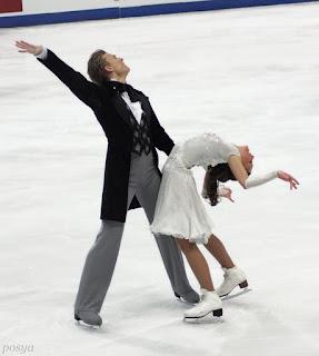 Ekaterina Riazanova and Ilia Tkachenko