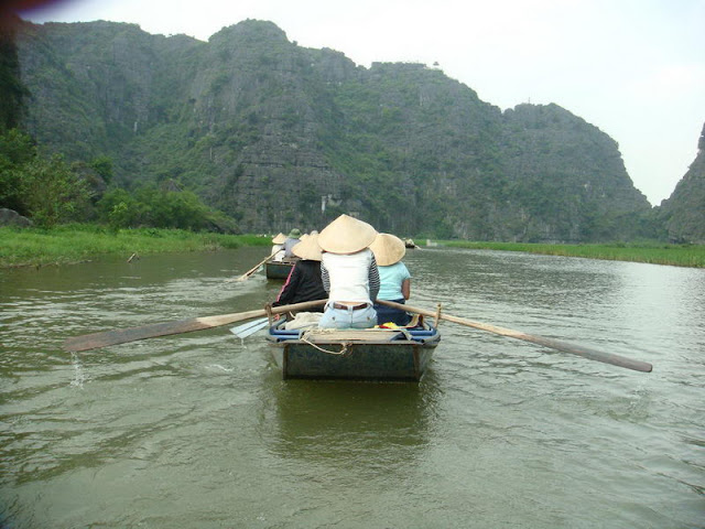 Excursion en bateau dans Tam Coc, Ninh Binh - Photo An Bui