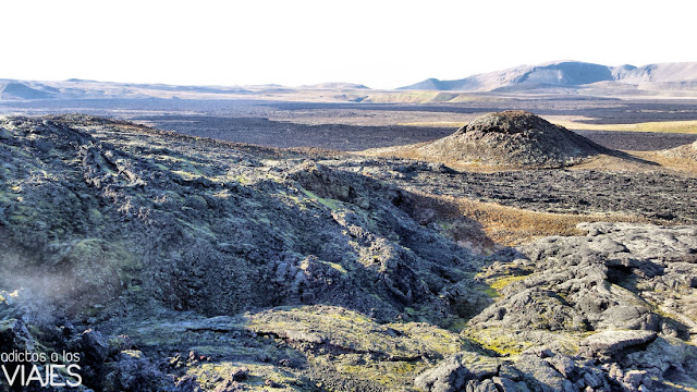 Zona volcánica de Leirhnjúkur