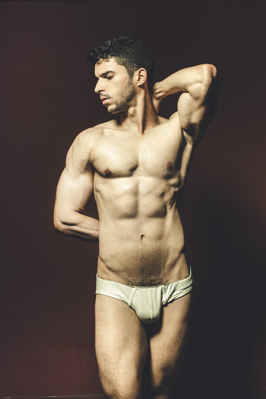 naked brazilian model