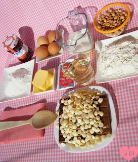 receta ingredientes chocolate fresa merengue