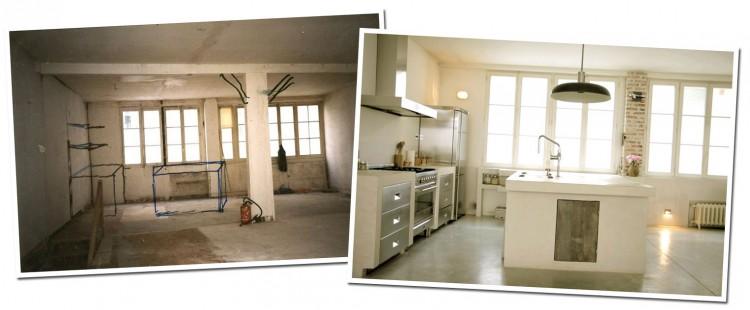 Petitecandela blog de decoraci n diy dise o y muchas velas antes y despu s de imprenta a loft - Casas reformadas antes y despues ...