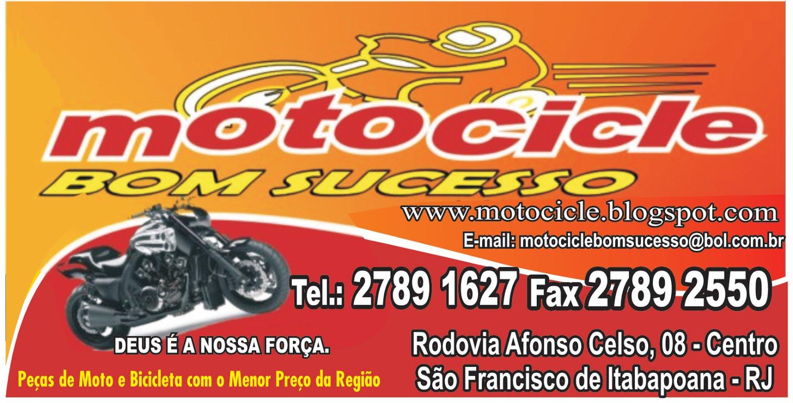 MOTOCICLE BOM SUCESSO