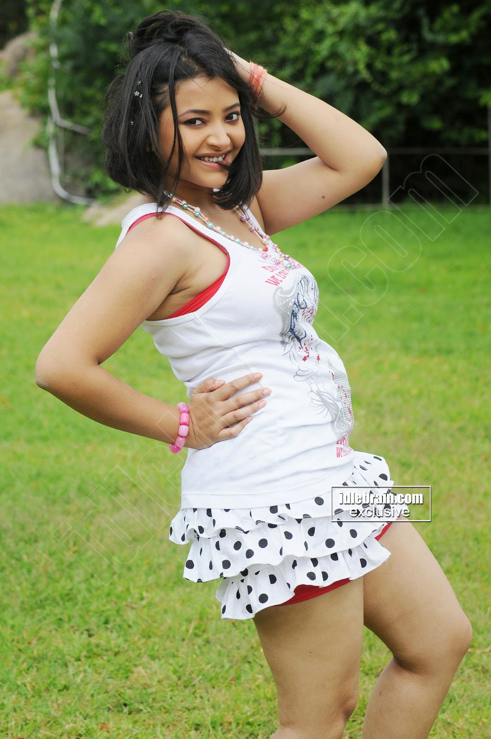 Swetha Basu in movie song