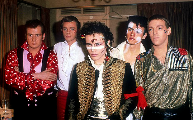 Adam and the Ants lineup, 1980-1