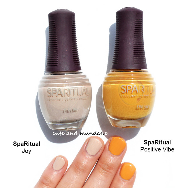 Cute and Mundane: SpaRitual Reflect nail lacquer collection review + ...