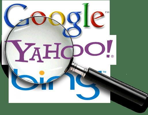 logo google bing yahoo icon