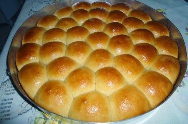 Receita de pãozinhos de leite condensado