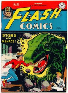Flash Comics #86 comic cover pic