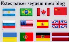 Países que acompanham este blog